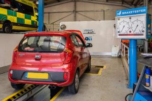 Equipment for Car MOT